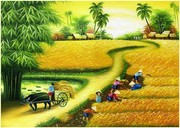 TH-13977- 10 mẫu tranh phong cảnh mùa thu đẹp nhất thế giới