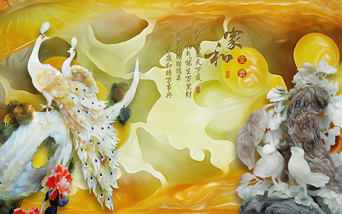 TH-58P-02316-copy - Tranh công, tranh phượng sẽ giúp gia chủ tuổi Sửu phát tài phát lộc