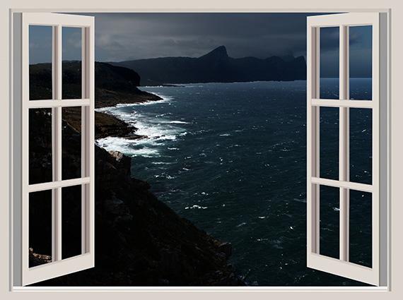 Tranh 3D phòng khách hình cửa sổ đẹp nhất: mã in TH-58P-03115-copy
