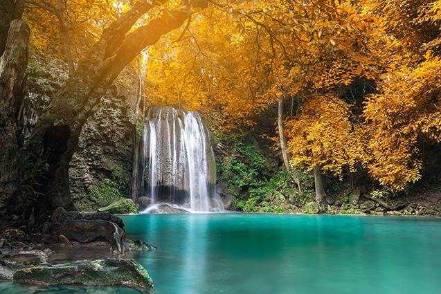 THS_1147- 10 mẫu tranh phong cảnh mùa thu đẹp nhất thế giới