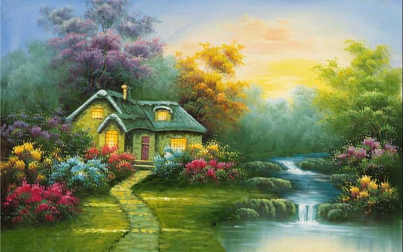TH_05724- 10 mẫu tranh phong cảnh mùa thu đẹp nhất thế giới