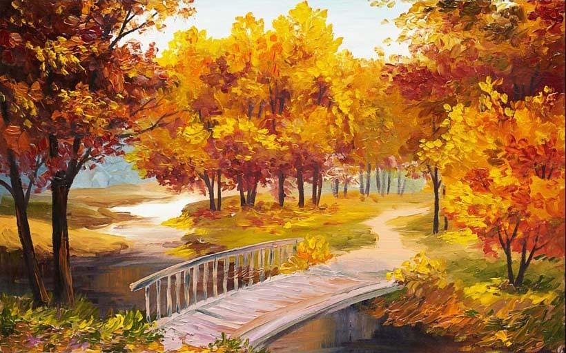 TH_07303 - Mẫu tranh phong cảnh mùa thu đẹp nhất thế giới