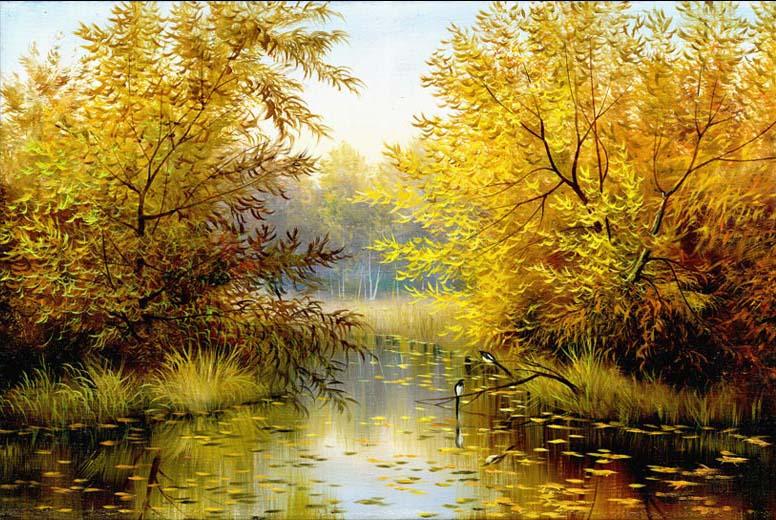 TH_08343- 10 mẫu tranh phong cảnh mùa thu đẹp nhất thế giới