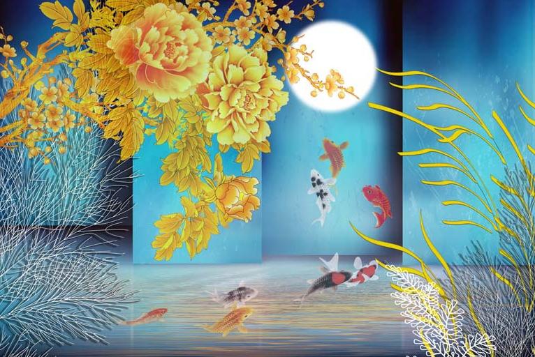 TH_08866- 10 mẫu tranh phong cảnh mùa thu đẹp nhất thế giới