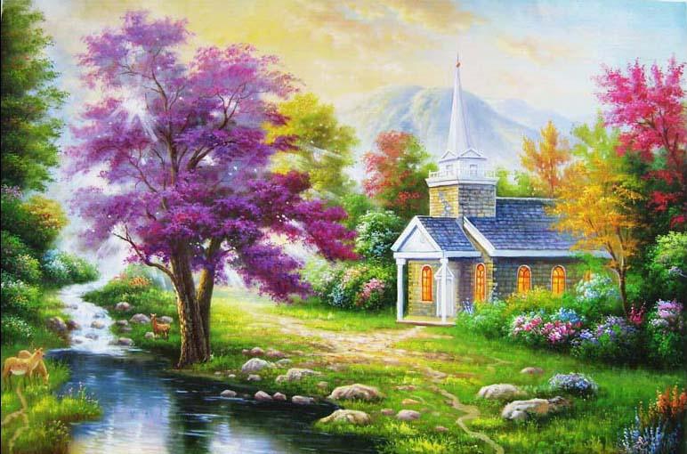 TH_09225 - Mẫu tranh phong cảnh mùa thu đẹp nhất thế giới