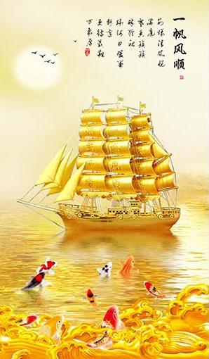 TH_10902 - Những mẫu tranh 3d, tranh phong cảnh, tranh phong thủy hợp với người mệnh Kim