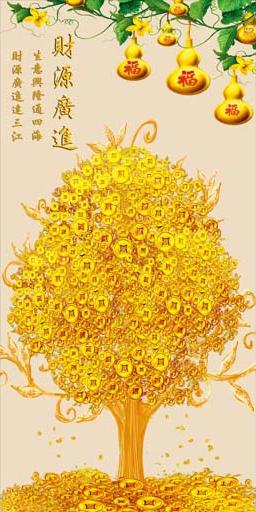 TH_10974 - Những mẫu tranh 3d, tranh phong cảnh, tranh phong thủy hợp với người mệnh Kim
