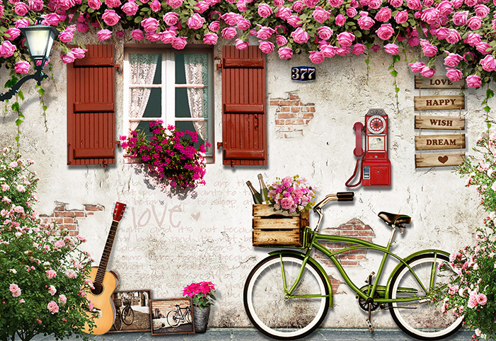 Tranh dán tường 3d hiện đại thích hợp trang trí phòng khách, phòng ngủ, phòng trà, quán cafe: mẫu in TH_O_00324-copy