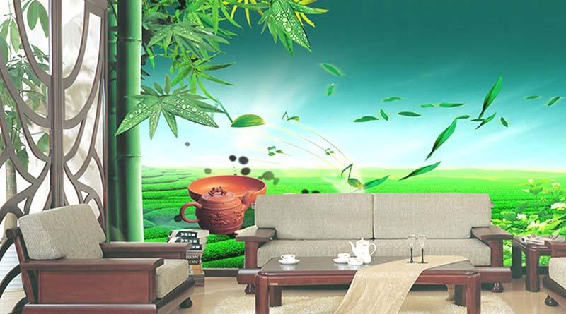 Báo giá tranh dán tường 3D| Xưởng in tranh 3d giá rẻ nhất Hà Nội