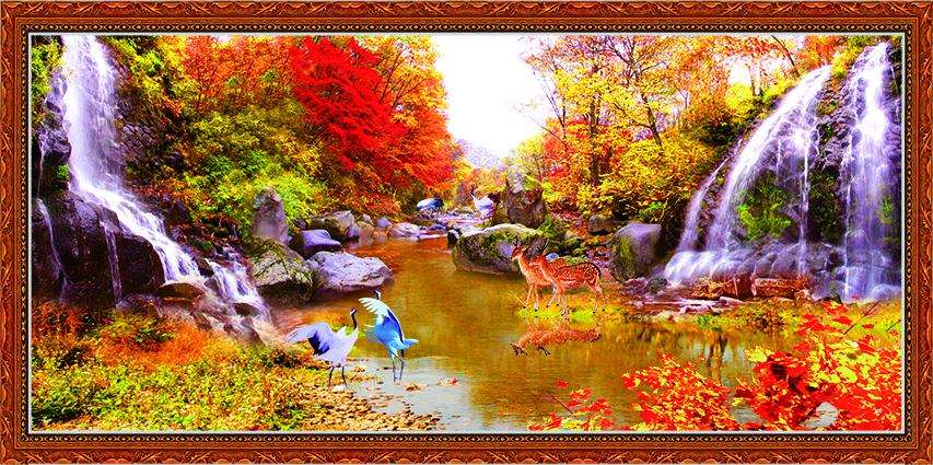 zth0209-copy- 10 mẫu tranh phong cảnh mùa thu đẹp nhất thế giới