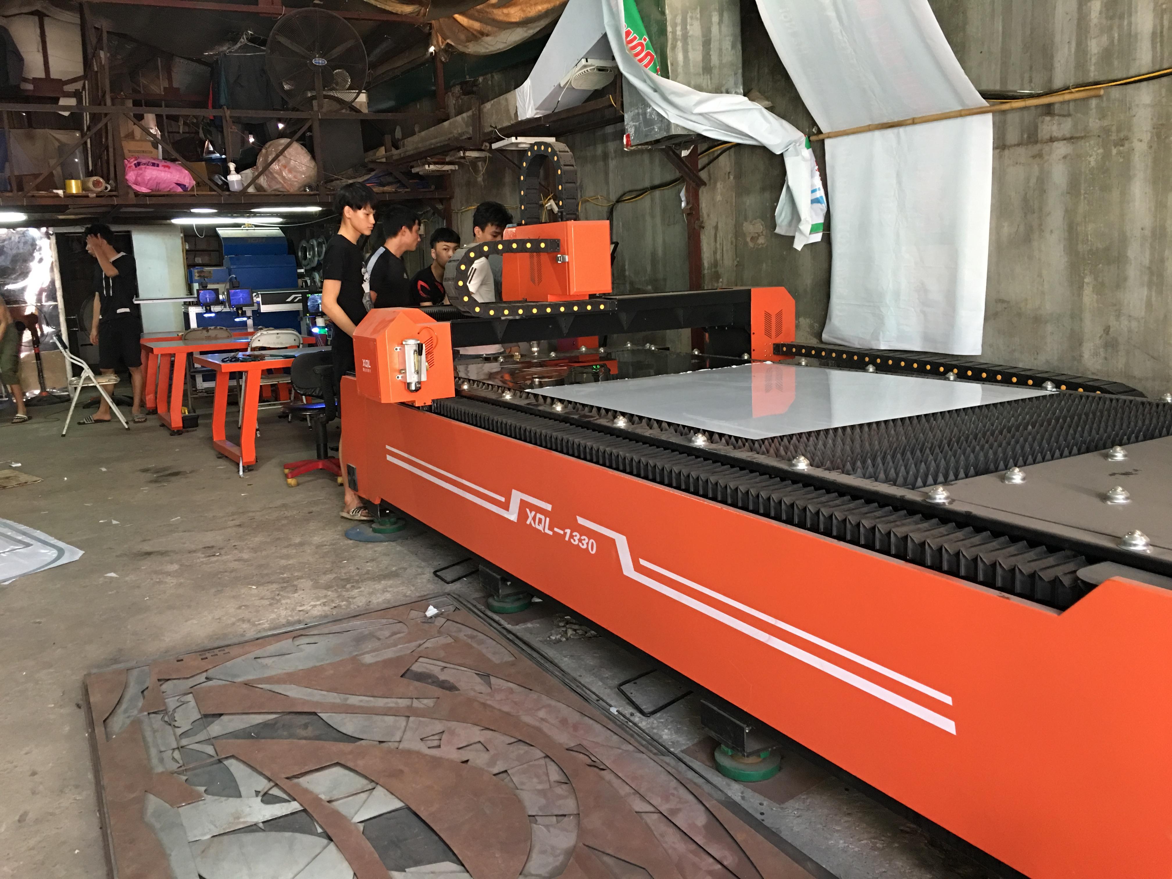 Xưởng cắt chữ inox Thiên Hà giá rẻ, gia công theo yêu cầu nhanh nhất