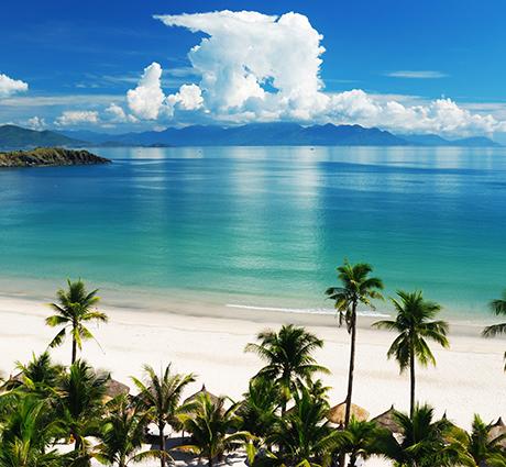 Tranh phong cảnh biển tuyệt đẹp: mã in THS_0136