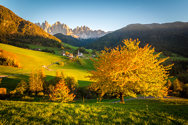 18 mẫu tranh phong cảnh thiên nhiên đẹp nhất 2020: mã in THS_0887