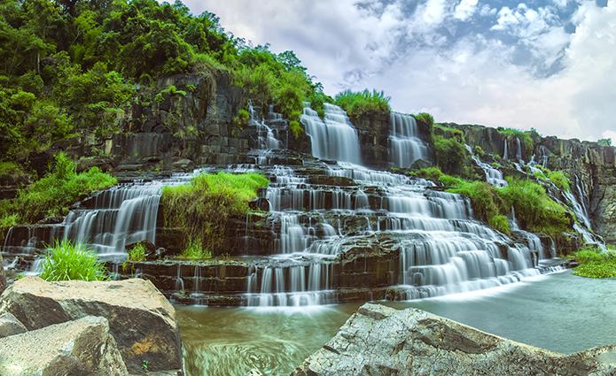 18 mẫu tranh phong cảnh thiên nhiên đẹp nhất 2020: mã in THS_0998