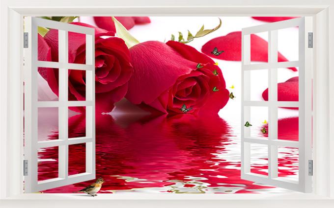 TH-58P-00465-copy - Nên chọn những mẫu tranh 3d mang đến cảm giác ngọt ngào, lãng mạn cho đêm tân hôn