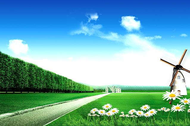 Tranh 3d phong cảnh mùa xuân mang đến nguồn cảm hứng bất tận cho ngôi nhà bạn - TH-58P-01206-copy