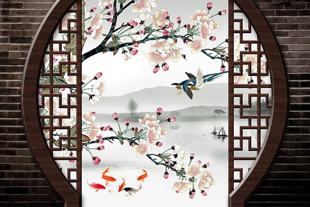 Bộ sưu tập những mẫu tranh 3d trang trí phòng cưới đẹp lung linh, 365 ngày hạnh phúc - TH-58P-01210-copy