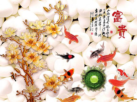 Tranh 3d phong cảnh mùa xuân mang đến nguồn cảm hứng bất tận cho ngôi nhà bạn - TH-58P-03171-copy
