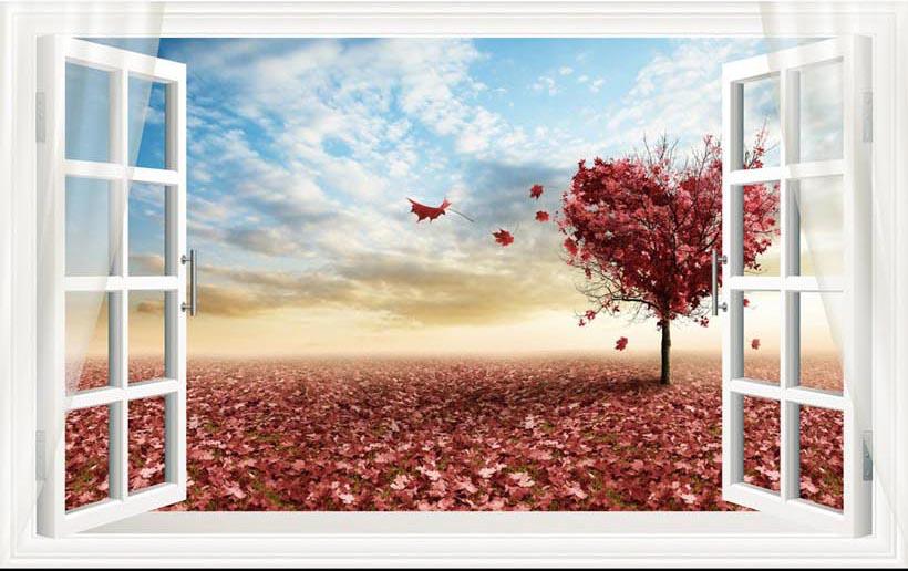 Bộ sưu tập những mẫu tranh 3d trang trí phòng cưới đẹp lung linh, 365 ngày hạnh phúc - TH_-11167