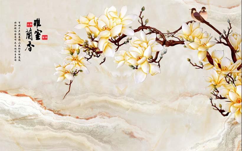 Tranh 3d phong cảnh mùa xuân mang đến nguồn cảm hứng bất tận cho ngôi nhà bạn - TH_11960