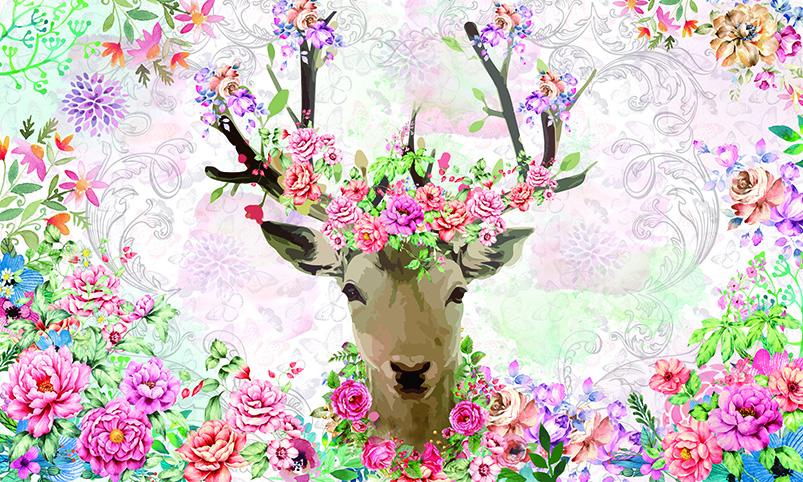 Tranh 3d phong cảnh mùa xuân mang đến nguồn cảm hứng bất tận cho ngôi nhà bạn - TH_O_00306-copy