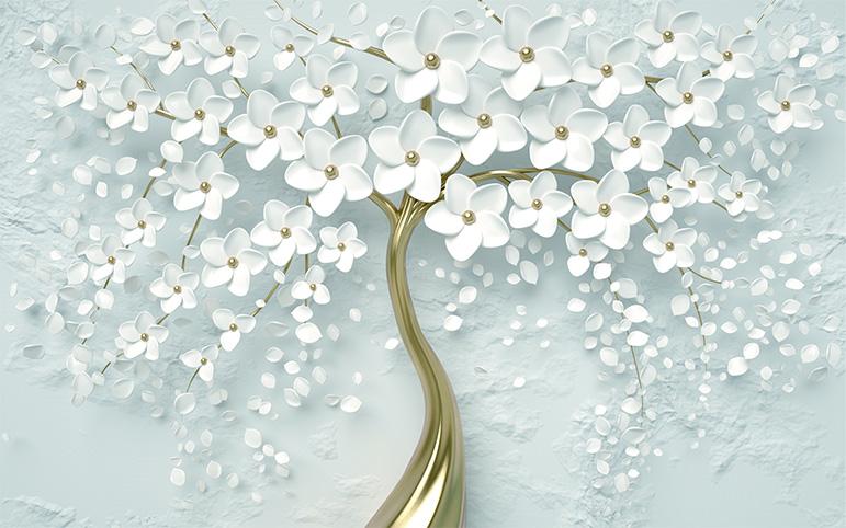 Bộ sưu tập những mẫu tranh 3d trang trí phòng cưới đẹp lung linh, 365 ngày hạnh phúc - TH_O_00342-copy