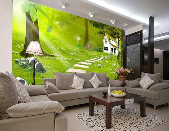 Chọn tranh 3d dán tường cần chú ý bản mệnh, tuổi tác của gia chủ