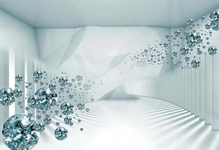 Phòng ngủ chất lừ với mẫu tranh 3d dán tường mã số: TH_11044