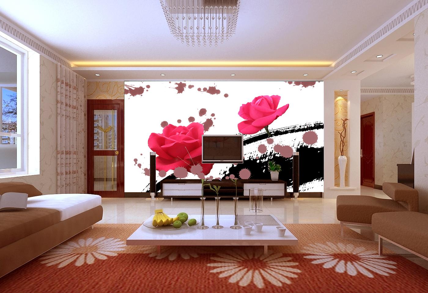 Mẫu tranh 3D phòng khách đẹp xuất thần chỉ có tại ở xưởng in tranh Thiên Hà - Mẫu aro-323-200x150